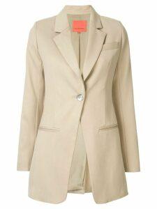 Manning Cartell single button blazer - Brown