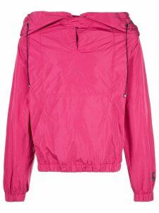 Vivienne Westwood Anglomania drawstring hooded jacket - PINK