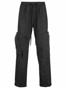Vivienne Westwood Anglomania drawstring straight-leg trousers - Black