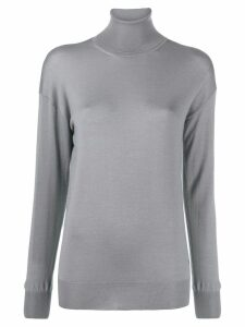 Tom Ford roll neck fine knit jumper - Grey