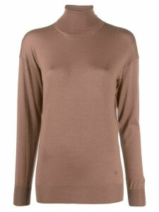 Tom Ford roll neck fine knit jumper - PINK