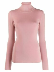 Odeeh turtle neck jumper - PINK