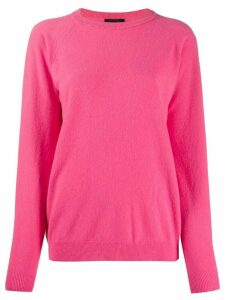 Roberto Collina wool knit jumper - PINK