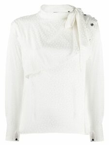 Isabel Marant patterned blouse - White