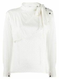 Isabel Marant patterned blouse - White