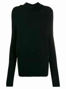 Patrizia Pepe round-neck jumper - Black