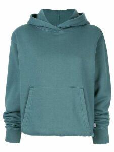 T By Alexander Wang long-sleeve pullover hoodie - Blue