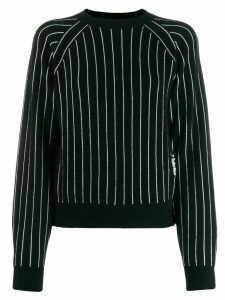 Barrie striped cashmere jumper - Black