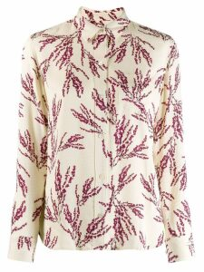 Equipment floral printed shirt - NEUTRALS