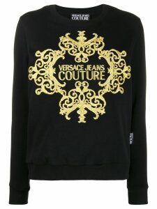 Versace Jeans Couture baroque sweatshirt - Black