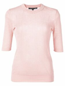Veronica Beard fitted Dean top - PINK