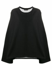 Barbara Bologna oversized sweatshirt - Black