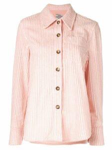 Baum Und Pferdgarten long-sleeve oversized shirt - PINK