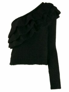 Philosophy Di Lorenzo Serafini one shoulder sweater - Black