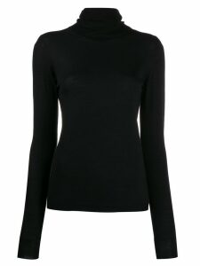 Sara Lanzi turtleneck top - Black