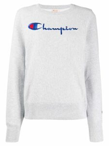 Champion logo sweater - Grey