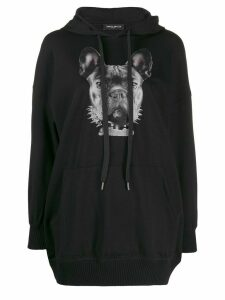 Frankie Morello French Bulldog hoodie - Black