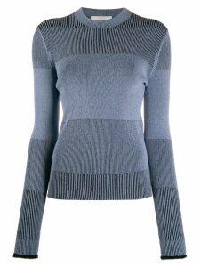 Ssheena striped knit sweater - Blue