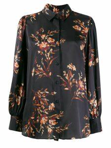 Equipment floral print blouse - Blue