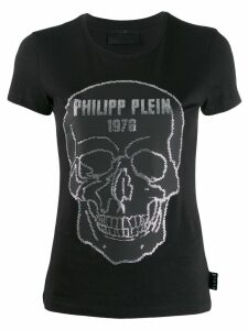 Philipp Plein round neck T-shirt - Black