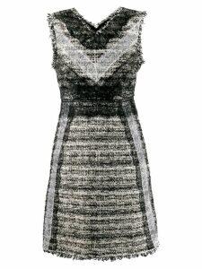 Giambattista Valli fringed dress - Black