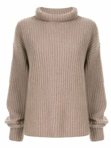 Sofie D'hoore cashmere roll neck sweater - NEUTRALS