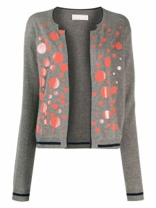 Rohka spotted cardigan - Grey