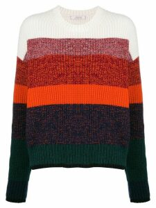 Dorothee Schumacher striped knit jumper - NEUTRALS