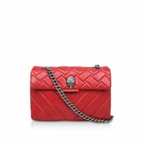 Kurt Geiger London Leather Kensington - Red Leather Shoulder Bag