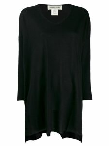 Lamberto Losani loose fit top - Black