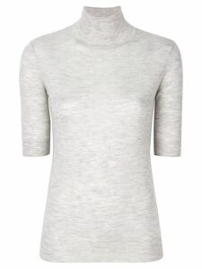 Joseph cashmere fine knit turtleneck sweater - Grey