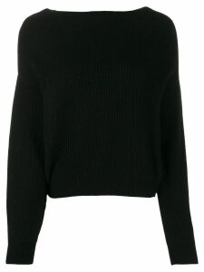 Bellerose long sleeved sweater - Black
