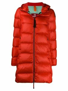 Parajumpers slim fit puffer coat - Red