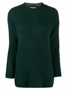 Bellerose funnel neck sweater - Green