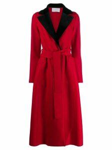 Harris Wharf London flared longline coat