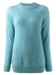 Agnona loose-fit jumper - Blue