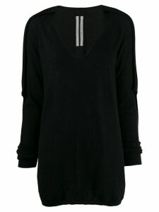 Rick Owens long sweater - Black