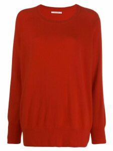 Chinti and Parker loose fit cashmere jumper - Red
