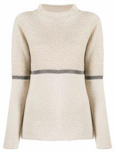 Fabiana Filippi cashmere sweatshirt - Neutrals
