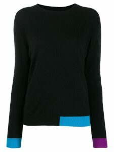 Chinti & Parker colour block jumper - Black