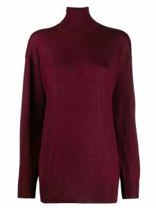 Tom Ford turtle neck sweater - Red
