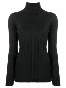 Fabiana Filippi roll neck knitted top - Black