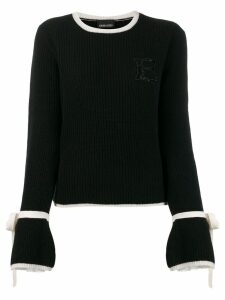 Ermanno Ermanno rib knit sweater - Black