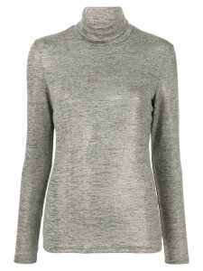 Paul & Joe turtle-neck fitted top - Gold
