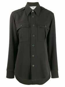 Stella McCartney wool military shirt - Green