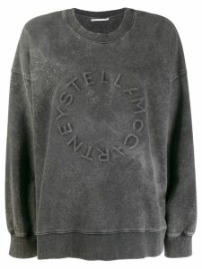 Stella McCartney logo detail sweatshirt - Grey