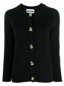 Moschino classic knitted cardigan - Black