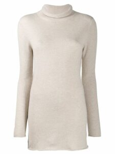 Agnona roll neck jumper - NEUTRALS