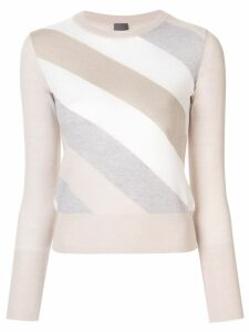 Lorena Antoniazzi striped jumper - NEUTRALS