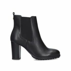 Carvela Comfort Royal - Black Block Heel Ankle Boots